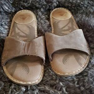 Margaritaville Leather Slides